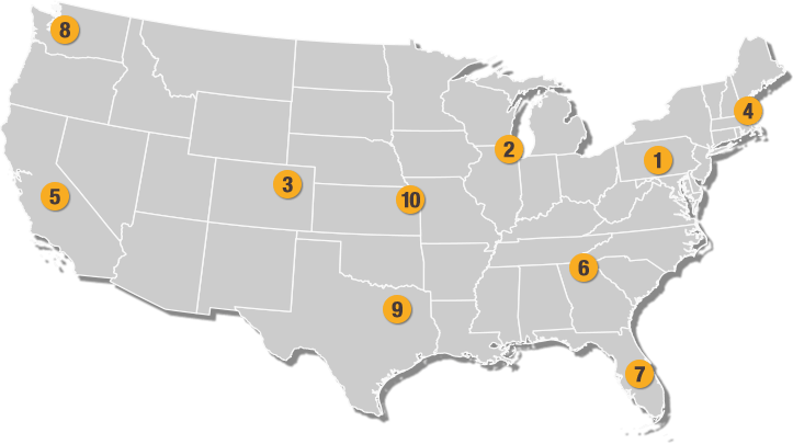 Warehouse map transparent large